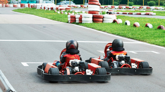 Gokart for to