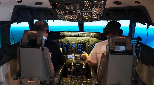 Flysimulator 737 - 800