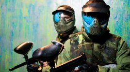 Indoor paintball