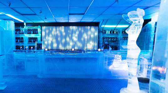 Icebar experience for to
