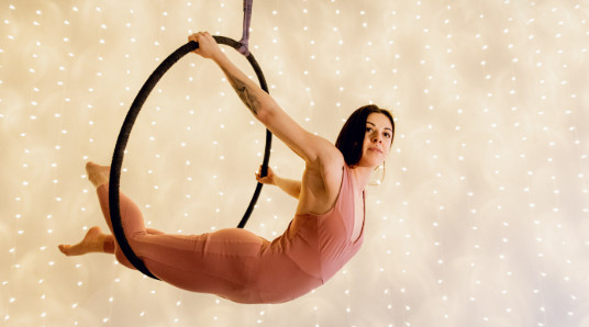 Aerial Hoop for to
